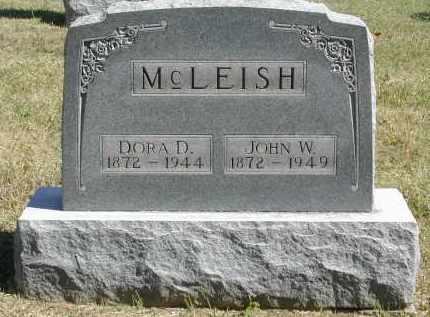 MCLEISH, JOHN - Gallia County, Ohio | JOHN MCLEISH - Ohio Gravestone Photos