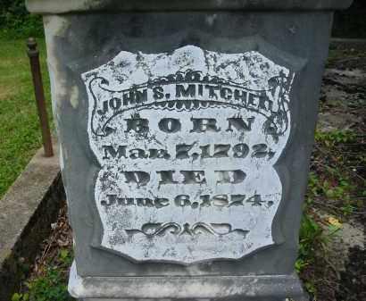 MITCHELL, JOHN S. - Gallia County, Ohio | JOHN S. MITCHELL - Ohio Gravestone Photos