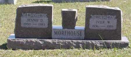 MOREHOUSE, IVOR - Gallia County, Ohio | IVOR MOREHOUSE - Ohio Gravestone Photos