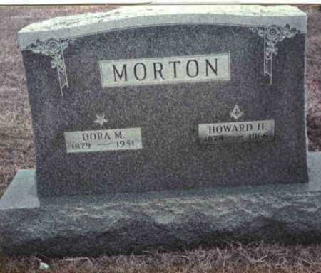MORTON, DORA M. - Gallia County, Ohio | DORA M. MORTON - Ohio Gravestone Photos