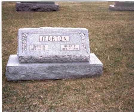 MORTON, HOLLIE E. - Gallia County, Ohio | HOLLIE E. MORTON - Ohio Gravestone Photos