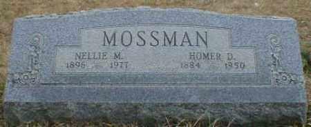 MOSSMAN, HOMER - Gallia County, Ohio | HOMER MOSSMAN - Ohio Gravestone Photos