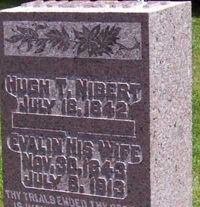 NIBERT, HUGH T. - Gallia County, Ohio | HUGH T. NIBERT - Ohio Gravestone Photos