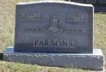 PARSONS, LUTHER - Gallia County, Ohio   LUTHER PARSONS - Ohio Gravestone Photos
