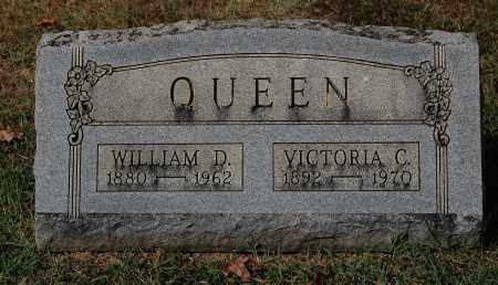 QUEEN, WILLIAM D. - Gallia County, Ohio | WILLIAM D. QUEEN - Ohio Gravestone Photos