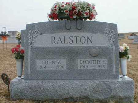RALSTON, JOHN - Gallia County, Ohio | JOHN RALSTON - Ohio Gravestone Photos