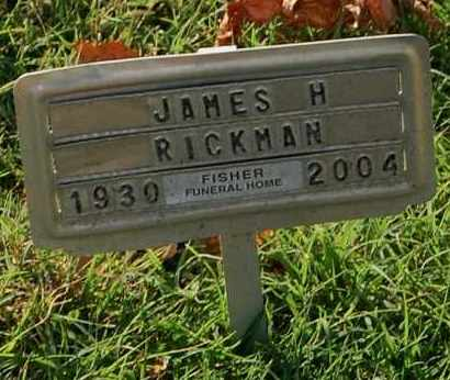RICKMAN, JAMES H. - Gallia County, Ohio | JAMES H. RICKMAN - Ohio Gravestone Photos