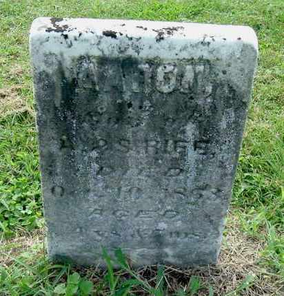 RIFE, AARON - Gallia County, Ohio | AARON RIFE - Ohio Gravestone Photos