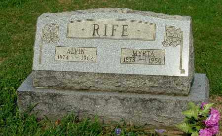 RIFE, MYRTA - Gallia County, Ohio | MYRTA RIFE - Ohio Gravestone Photos