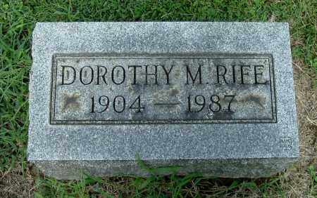 RIFE, DOROTHY M - Gallia County, Ohio | DOROTHY M RIFE - Ohio Gravestone Photos