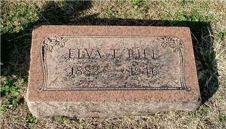 RIFE, ELVA T - Gallia County, Ohio | ELVA T RIFE - Ohio Gravestone Photos