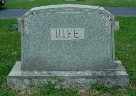 RIFE, FAMILY GROUPING - Gallia County, Ohio | FAMILY GROUPING RIFE - Ohio Gravestone Photos