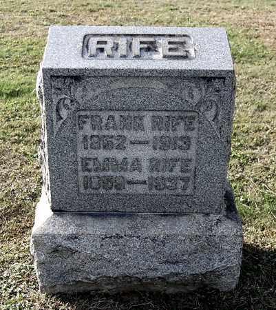 RIFE, FRANK - Gallia County, Ohio | FRANK RIFE - Ohio Gravestone Photos