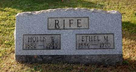 RIFE, HOLLIS W - Gallia County, Ohio | HOLLIS W RIFE - Ohio Gravestone Photos
