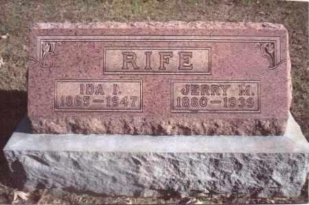 RIFE, IDA IRENE - Gallia County, Ohio | IDA IRENE RIFE - Ohio Gravestone Photos