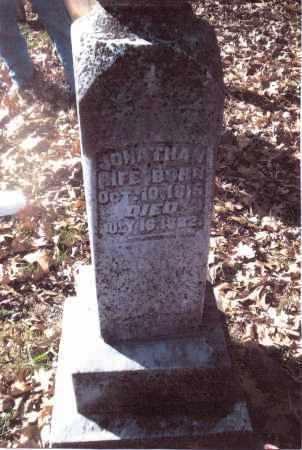 RIFE, JONATHAN - Gallia County, Ohio | JONATHAN RIFE - Ohio Gravestone Photos