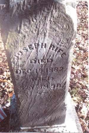 RIFE, JOSEPH - Gallia County, Ohio   JOSEPH RIFE - Ohio Gravestone Photos