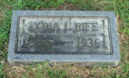 RIFE, LYDIA L - Gallia County, Ohio | LYDIA L RIFE - Ohio Gravestone Photos