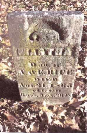 RIFE, MARTHA - Gallia County, Ohio   MARTHA RIFE - Ohio Gravestone Photos