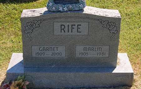 RIFE, MARLIN - Gallia County, Ohio | MARLIN RIFE - Ohio Gravestone Photos