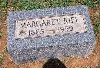 RIFE, MARGARET KATHERINE - Gallia County, Ohio | MARGARET KATHERINE RIFE - Ohio Gravestone Photos