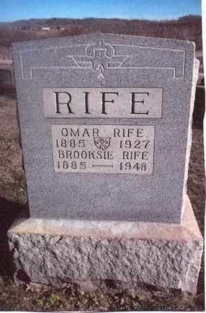 RIFE, OMAR - Gallia County, Ohio | OMAR RIFE - Ohio Gravestone Photos