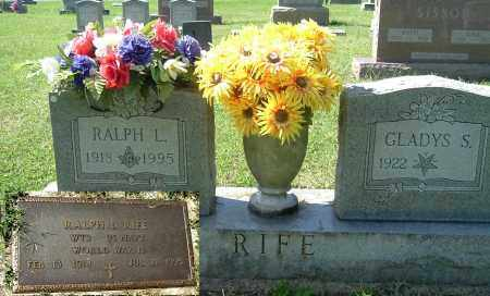 RIFE, RALPH L - Gallia County, Ohio | RALPH L RIFE - Ohio Gravestone Photos