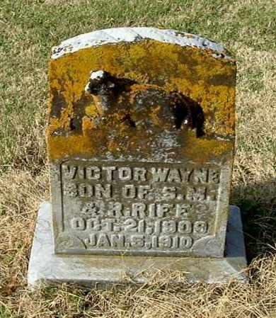 RIFE, VICTOR WAYNE - Gallia County, Ohio | VICTOR WAYNE RIFE - Ohio Gravestone Photos
