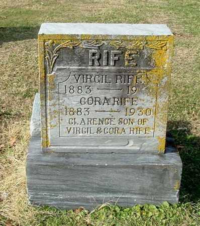 RIFE, CLARENCE - Gallia County, Ohio | CLARENCE RIFE - Ohio Gravestone Photos