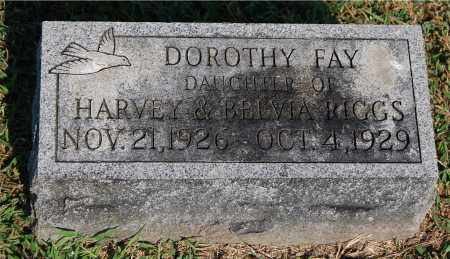 RIGGS, DOROTHY FAY - Gallia County, Ohio | DOROTHY FAY RIGGS - Ohio Gravestone Photos