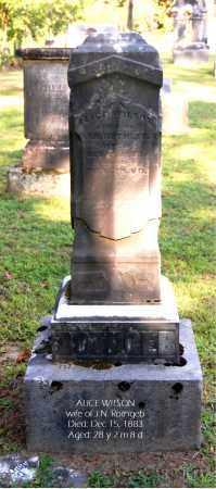 ROTHGEB, ALICE - Gallia County, Ohio | ALICE ROTHGEB - Ohio Gravestone Photos