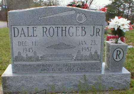ROTHGEB, DALE - Gallia County, Ohio   DALE ROTHGEB - Ohio Gravestone Photos
