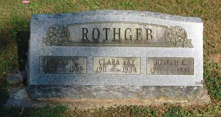 ROTHGEB, CLARA FAY - Gallia County, Ohio | CLARA FAY ROTHGEB - Ohio Gravestone Photos