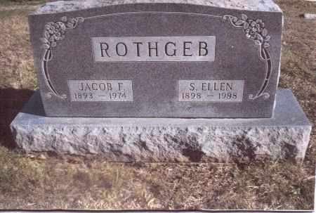 ROTHGEB, JACOB F. - Gallia County, Ohio | JACOB F. ROTHGEB - Ohio Gravestone Photos