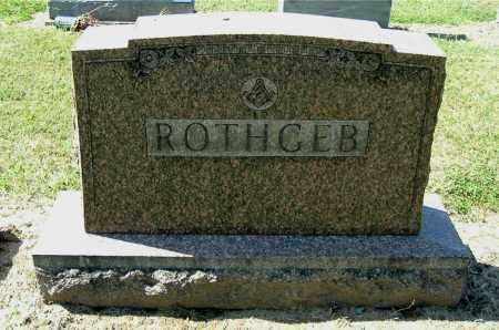 ROTHGEB, MONUMENT - Gallia County, Ohio | MONUMENT ROTHGEB - Ohio Gravestone Photos