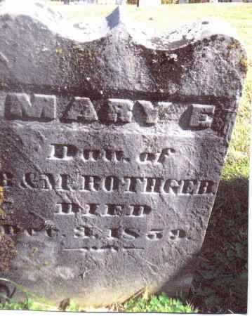 ROTHGEB, MARY E. - Gallia County, Ohio | MARY E. ROTHGEB - Ohio Gravestone Photos