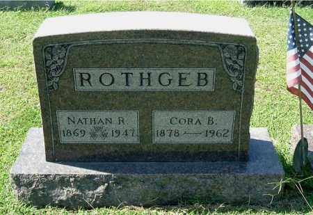 ROTHGEB, NATHAN R - Gallia County, Ohio   NATHAN R ROTHGEB - Ohio Gravestone Photos