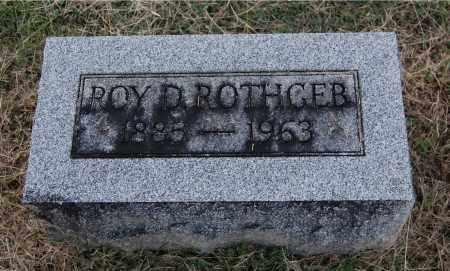 ROTHGEB, ROY D - Gallia County, Ohio | ROY D ROTHGEB - Ohio Gravestone Photos