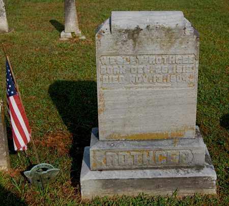 ROTHGEB, WESLEY - Gallia County, Ohio   WESLEY ROTHGEB - Ohio Gravestone Photos
