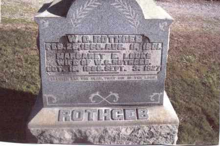 ROTHGEB, MARGARET E. - Gallia County, Ohio | MARGARET E. ROTHGEB - Ohio Gravestone Photos