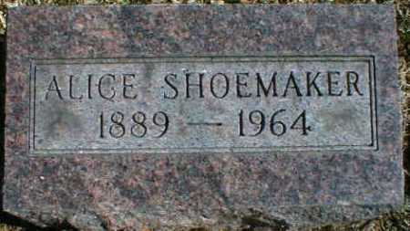 SHOEMAKER, ALICE - Gallia County, Ohio | ALICE SHOEMAKER - Ohio Gravestone Photos