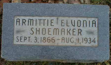 SHOEMAKER, ARMITTIE - Gallia County, Ohio | ARMITTIE SHOEMAKER - Ohio Gravestone Photos