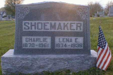 SHOEMAKER, CHARLEY - Gallia County, Ohio | CHARLEY SHOEMAKER - Ohio Gravestone Photos