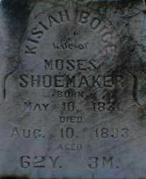 SHOEMAKER, KISIAH - Gallia County, Ohio   KISIAH SHOEMAKER - Ohio Gravestone Photos