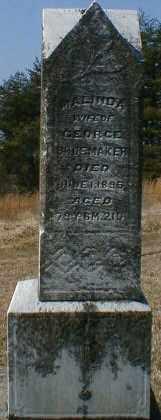SHOEMAKER, MALINDA - Gallia County, Ohio | MALINDA SHOEMAKER - Ohio Gravestone Photos