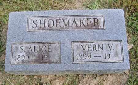 SHOEMAKER, S. - Gallia County, Ohio | S. SHOEMAKER - Ohio Gravestone Photos