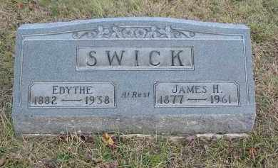 SWICK, JAMES H. - Gallia County, Ohio | JAMES H. SWICK - Ohio Gravestone Photos