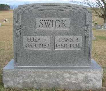 SWICK, LEWIS R. - Gallia County, Ohio | LEWIS R. SWICK - Ohio Gravestone Photos
