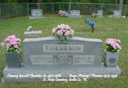 THEVENIN, CHANCY GARRETT - Gallia County, Ohio   CHANCY GARRETT THEVENIN - Ohio Gravestone Photos