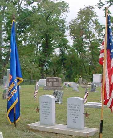 THEVENIN, NICHOLAS - Gallia County, Ohio | NICHOLAS THEVENIN - Ohio Gravestone Photos